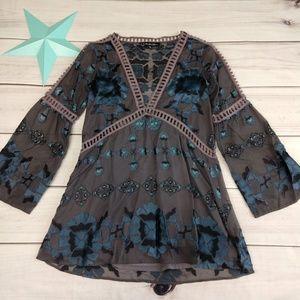 For Love & Lemons Barcelona mini dress size XS